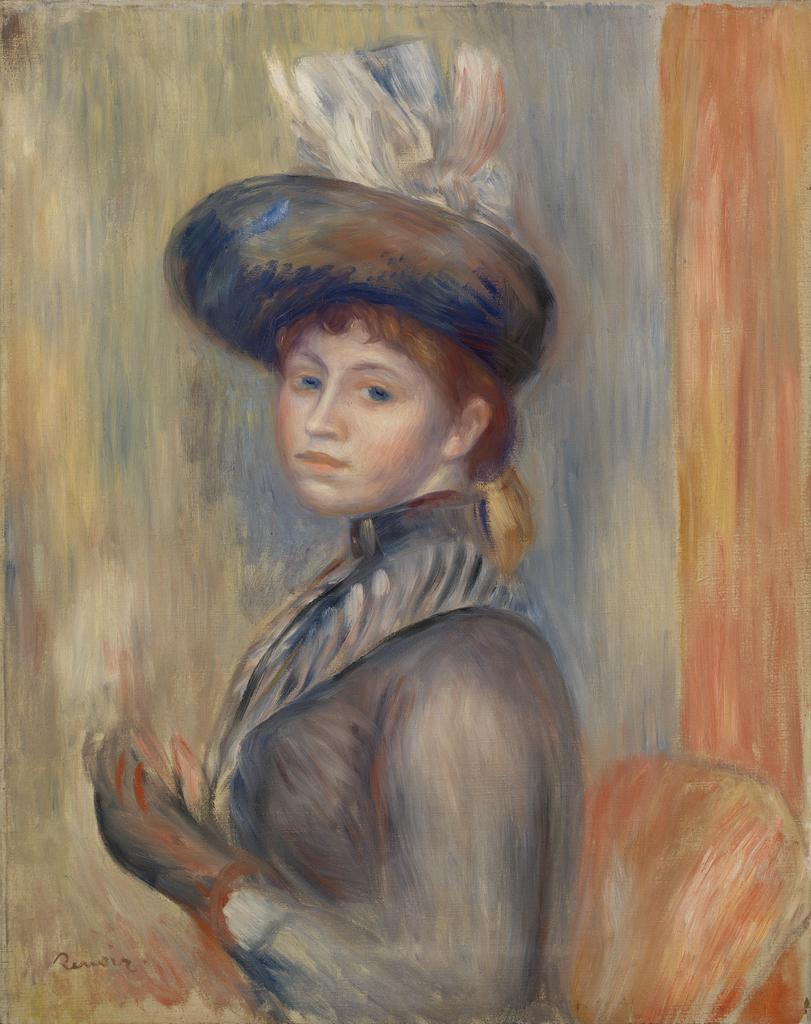 Women with hat 1